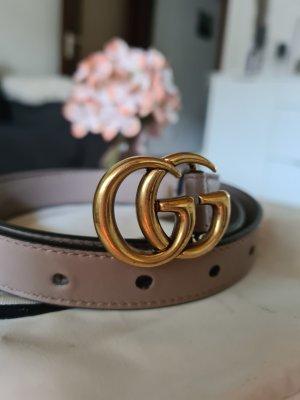 Gucci Hebilla del cinturón rosa empolvado