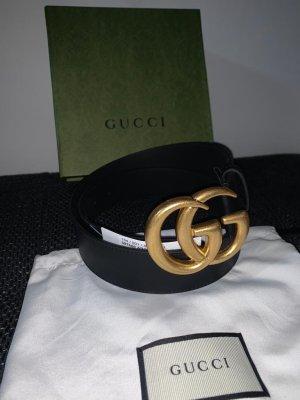 Gucci Gürtel Leder Schwarz