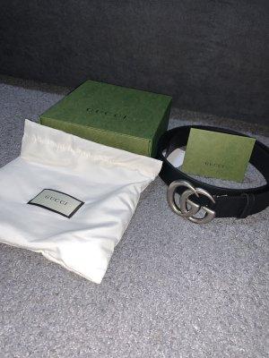 Gucci Waist Belt black-silver-colored