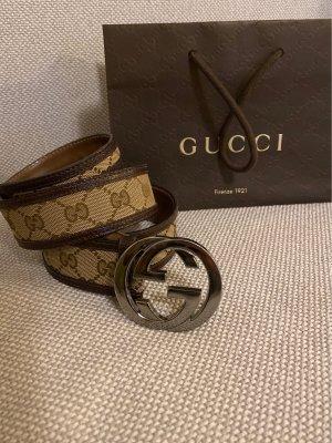 Gucci Gürtel mit GG schnalle 105cm lang