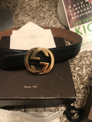 Gucci Gürtel schwarz