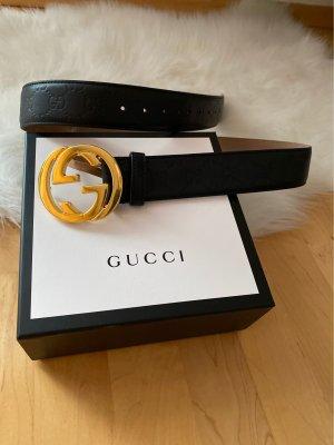 Gucci Ceinture en cuir multicolore