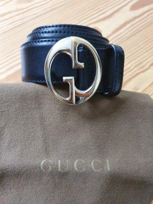 Gucci Gürtel schwarz Gr. 80 Original