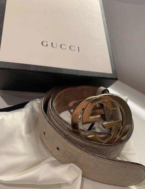 Gucci Gürtel Signature mit G Schnalle