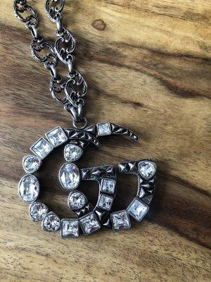 Gucci Collana dichiarazione argento-grigio