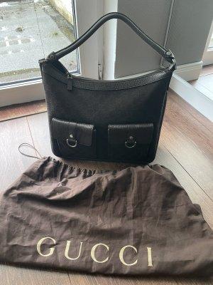 Gucci Handtas zwart bruin