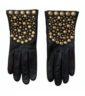 Gucci Leren handschoenen zwart