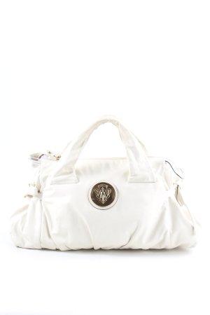 Gucci Borsetta bianco-oro stile casual