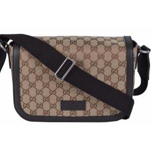 GUCCI Handtasche Damentasche Guccissima Original Medium Canvas Messenger Bag
