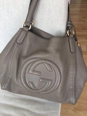 Gucci Handtas grijs-goud