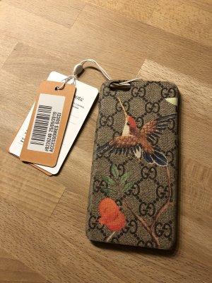 Gucci Étui pour téléphone portable marron clair-orange