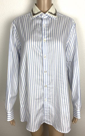 Gucci, Hemd, Blau-Weiß, It. 36 (32), oversized, neu, € 1.000,-