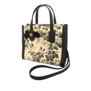 Gucci Herbarium Canvas Satchel