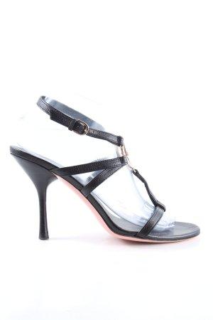 Gucci High Heel Sandaletten schwarz Elegant