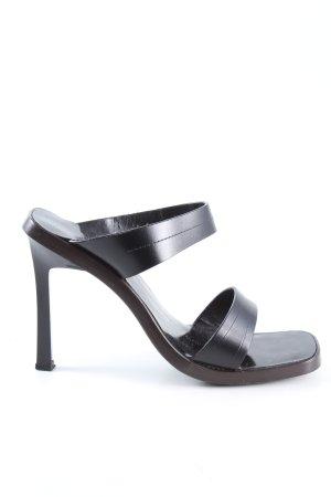 Gucci High Heel Sandaletten schwarz Casual-Look
