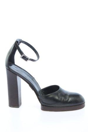 Gucci High Heels schwarz Business-Look