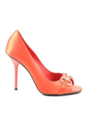 Gucci Hoge hakken licht Oranje elegant