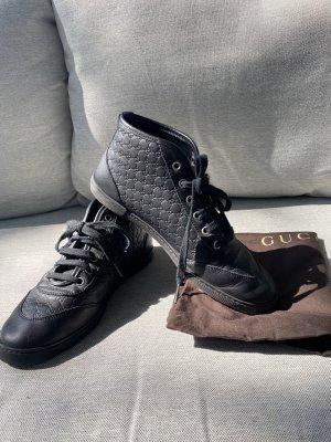 Gucci High top sneaker zwart