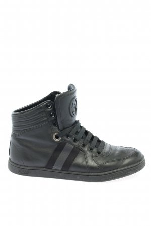 Gucci High Top Sneaker schwarz Casual-Look