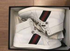 Gucci high top Sneaker weiß