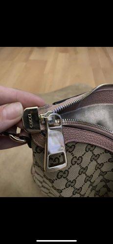 Gucci Hobo camel-w kolorze różowego złota