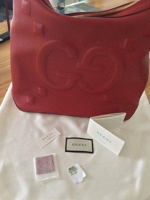 Gucci Hobo Bag Rot/Gold