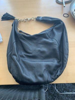 Gucci Borsa sacco nero-oro Pelle
