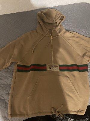 Gucci Sweter oversize jasnobrązowy