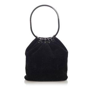 Gucci Hoop Suede Handbag