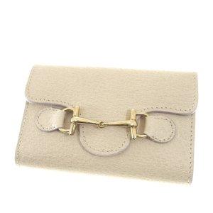 Gucci Etui na klucze biały Skóra