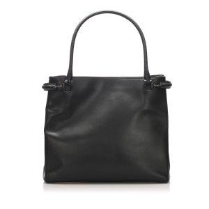 Gucci Sac fourre-tout noir cuir