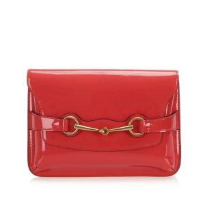 Gucci Horsebit Patent Leather Crossbody Bag