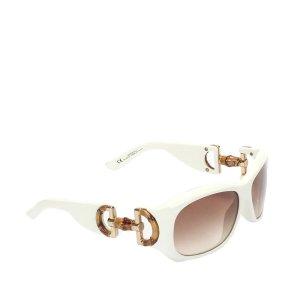 Gucci Horsebit Square Tinted Sunglasses