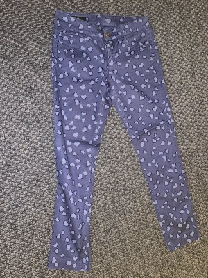 Gucci Jeggingsy chabrowy-niebieski