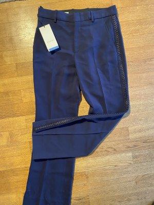 Gucci Pantalon pattes d'éléphant bleu