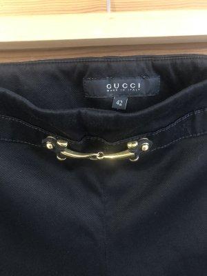 Gucci Pantalón de camuflaje negro