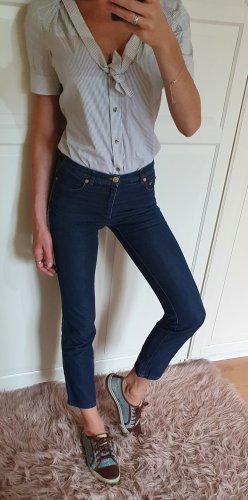 Gucci Jeans stretch doré-bleu