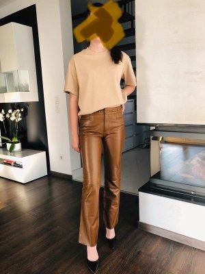 Gucci Leather Trousers multicolored