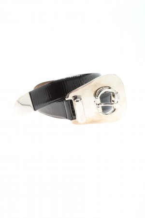 Gucci Hip Belt black-silver-colored casual look