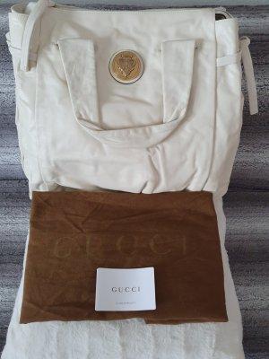 Gucci Schoudertas wit-goud