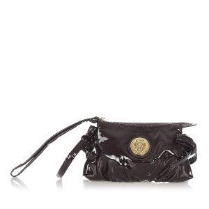 Gucci Hysteria Patent Leather Clutch Bag