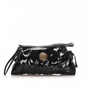 Gucci Hysteria Patent Leather Clutch Bag