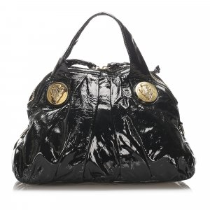 Gucci Hysteria Patent Leather Handbag