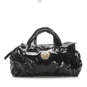 Gucci Sac à main noir faux cuir