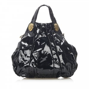Gucci Hysteria Patent Leather Satchel