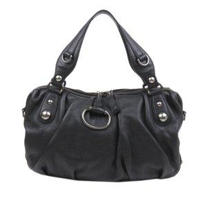 Gucci Satchel black leather