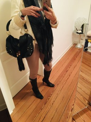 Gucci Schoudertas zwart-goud Oranje