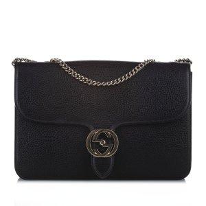 Gucci Crossbody bag black leather