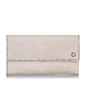Gucci Interlocking G Leather Long Wallet