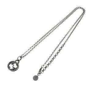 Gucci Necklace silver-colored real silver